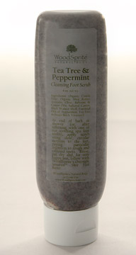 Tea Tree & Peppermint Organic Foot Scrub