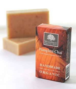 Pumpkin Chai Organic Soap - Limited Edition
