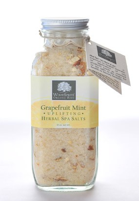 Grapefruit-Mint - Uplifting Herbal Spa Salts