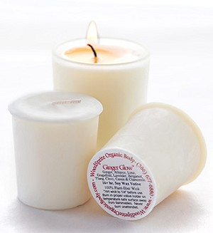 Ginger Glow 16 Hour Soy Votive Candle