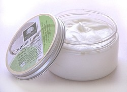 Coconut Lime Whipped Organic Coconut Body Butter