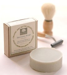Organic Shea Butter Shaving Soap - Unscented