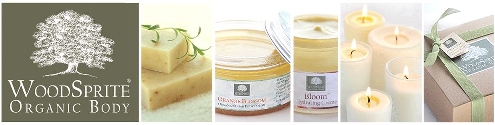 WoodSprite Organic Body - Organic Soap, Organic Spa & Soy Aromatherapy Candles