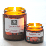 Pumpkin Chai Soy Aromatherapy Candle - LIMITED EDITION