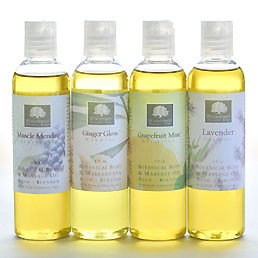 Organic Body & Massage Oils - 4 oz.