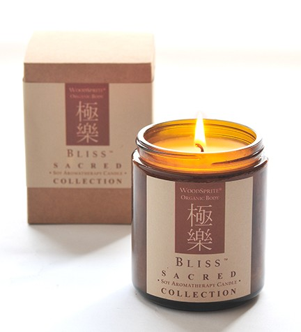Bliss Sacred Collection Soy Candle - 8 oz.