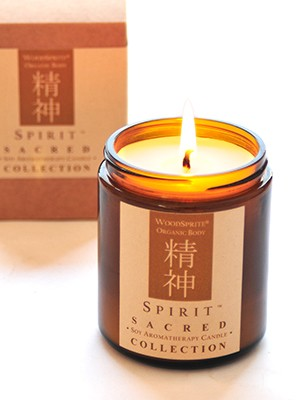 Spirit Sacred Collection Soy Aromatherapy Candle